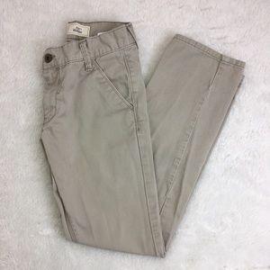 LEVIS 511 sz 10 Boys Khaki Pants Skinny 25x25
